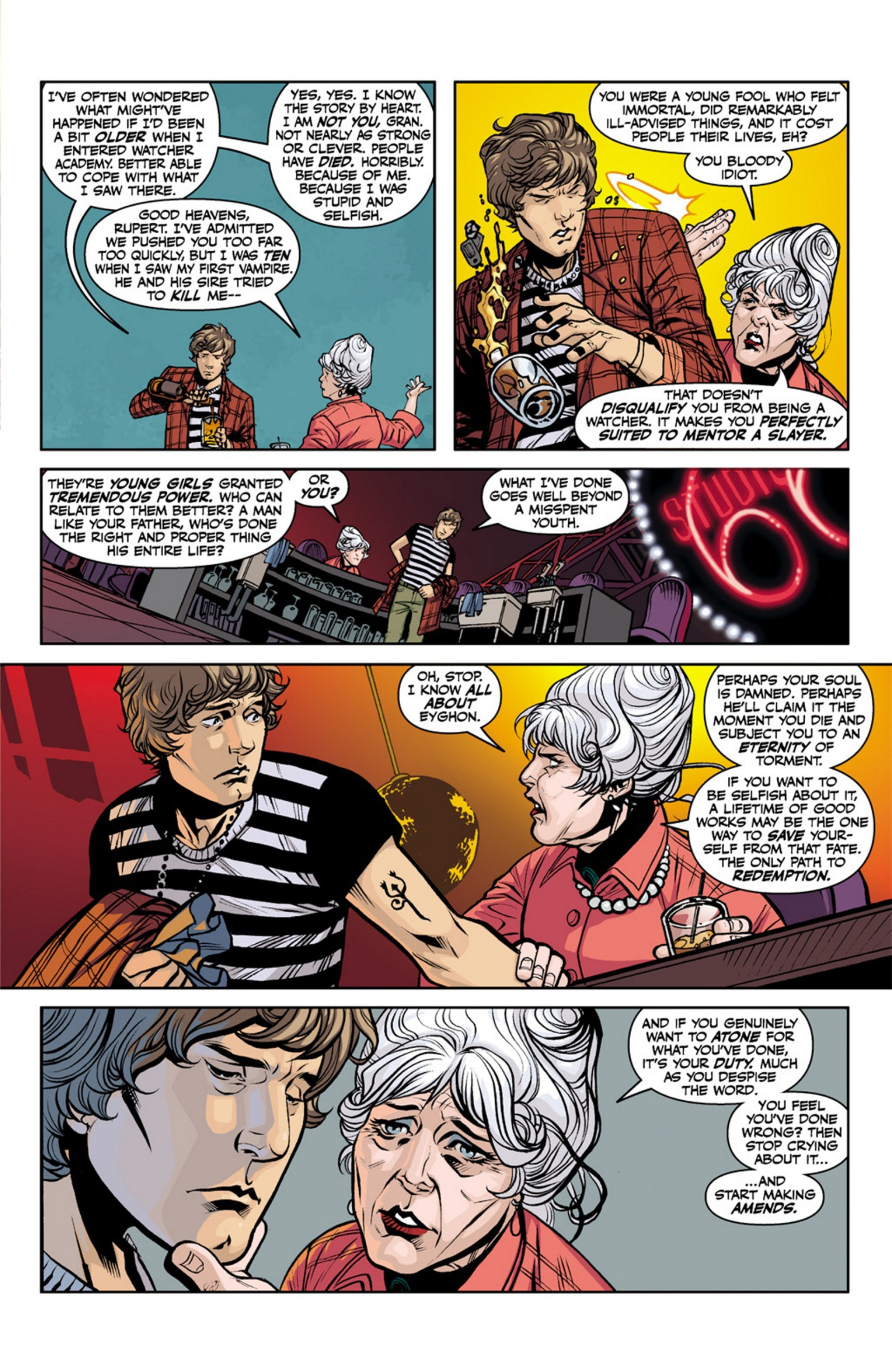 Read online Angel and Faith comic -  Issue #19 - 6