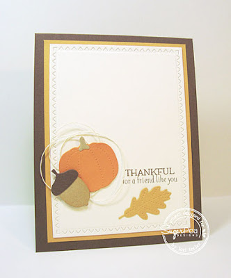 Thankful for a Friend Like You card-designed by Lori Tecler/Inking Aloud-stamps and dies from SugarPea Designs