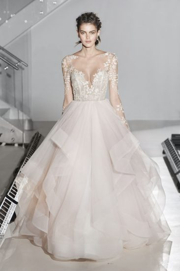 vestidos novia 2017 tendencias