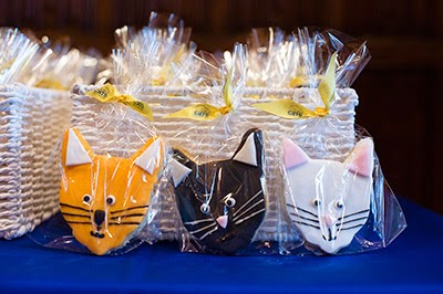 Cat-themed biscuits at the Manifesto for Cats launch