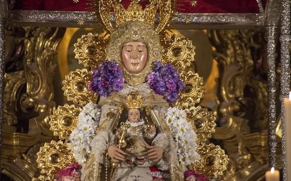 Rocío, la última procesión del 2019 en Sevilla