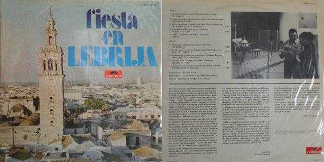 """MGUEL EL FUNI, PEDRO PEÑA """"FIESTA EN LEBRIJA"""" – POLYDOR 1971"""