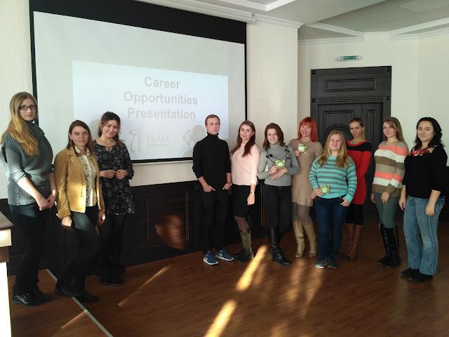 Cостоялась Career Presentation от компании TEAM International