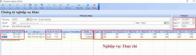 Hướng dẫn định khoản điều chỉnh kinh phí chi trên phần mềm kế toán MISA Bamboo.NET