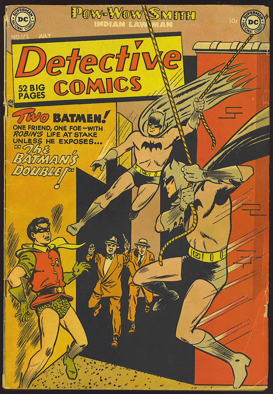 Detective Comics (1937) 173 Page 1