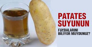 patates suyunun faydaları nelerdir