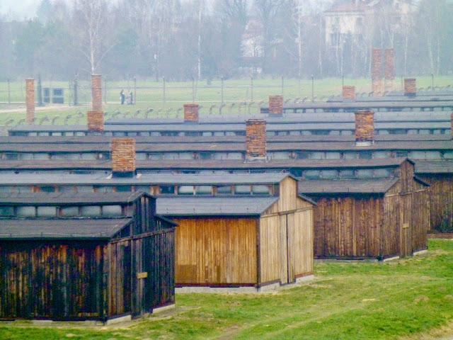 Birkenau, barracones de prisioneros