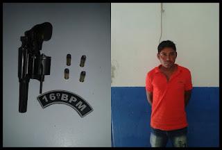 Anapurus MA: Homem é preso por porte ilegal de arma de fogo