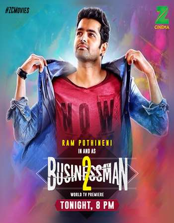 Businessman 2 2017 HDTV 1GB Hindi Dubbed 720p