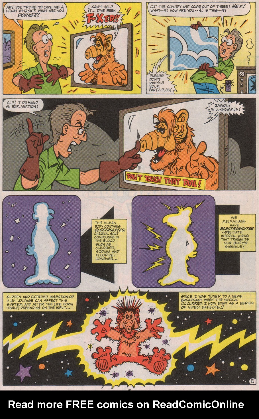 Read online ALF comic -  Issue #41 - 8