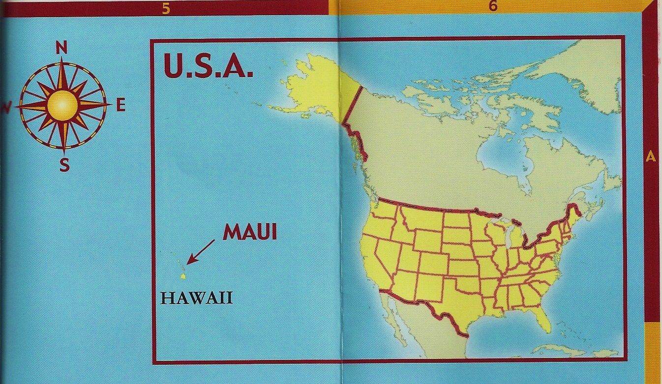 rosemary and carol's most excellent adventure. maps of maui
