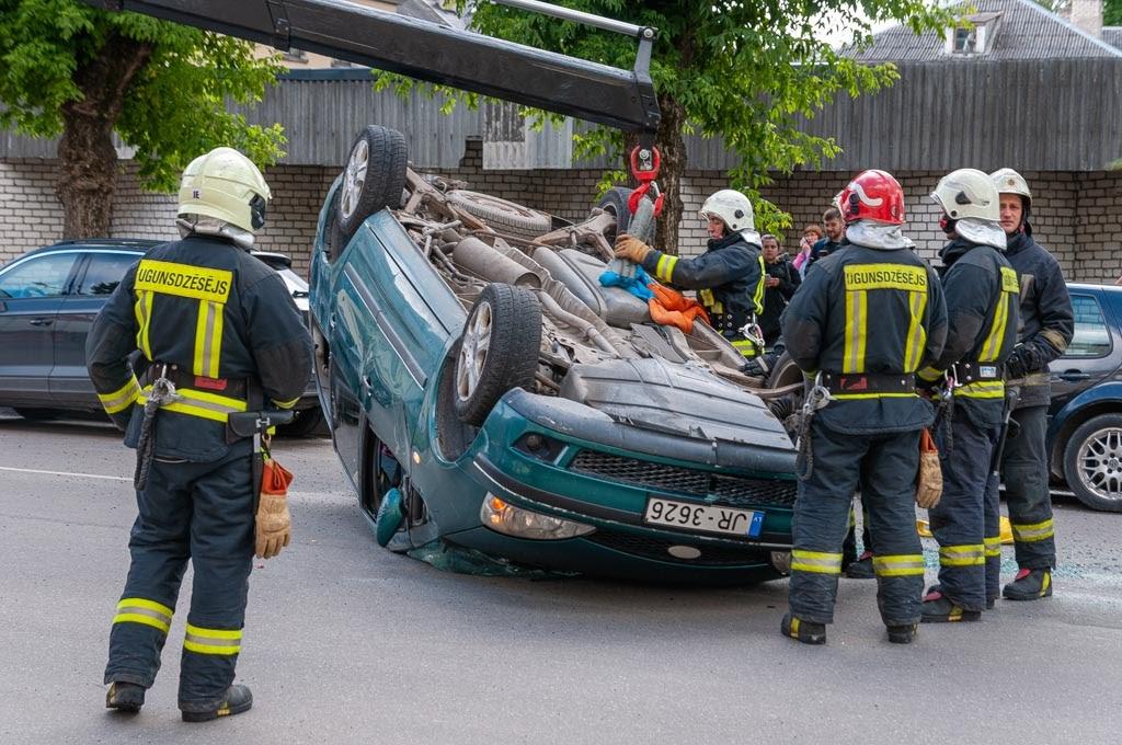 avārija Jelgavā 1