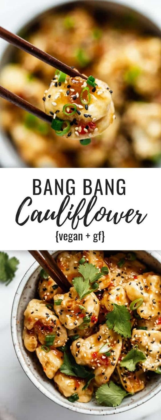 Bang Bang Cauliflower