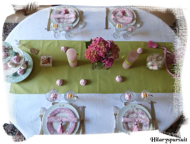 """Décoration de table """"délicates gourmandises"""""""