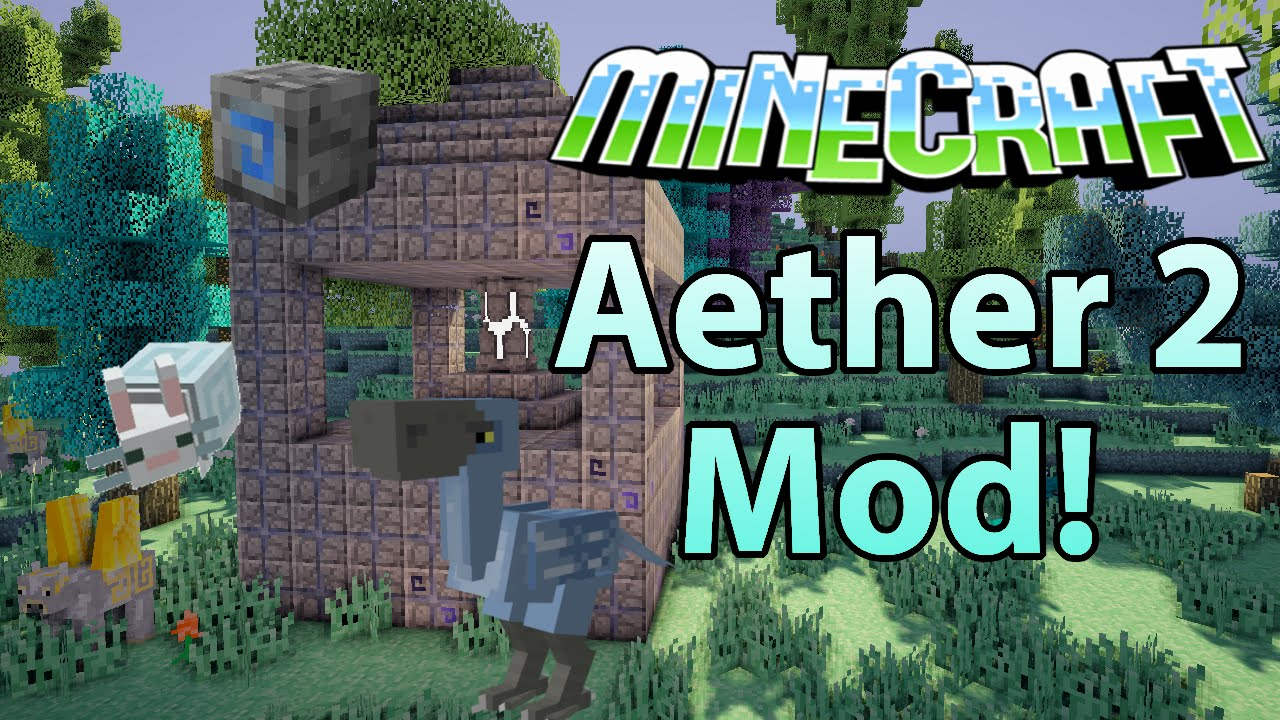 how to download aether mod