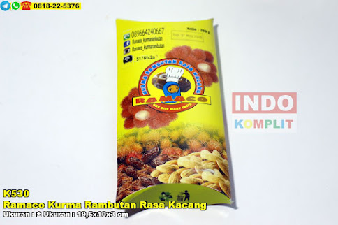 Ramaco Kurma Rambutan Rasa Kacang