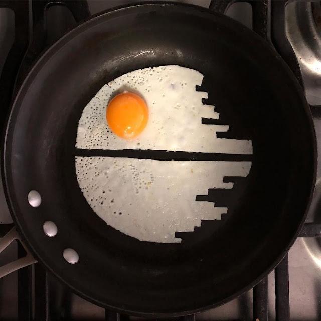 telur bentuk aneh
