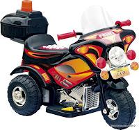 5 Motor Mainan Aki JUNIOR HL218 POLICE