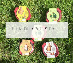 Little Dish Pots and pies toddler meals