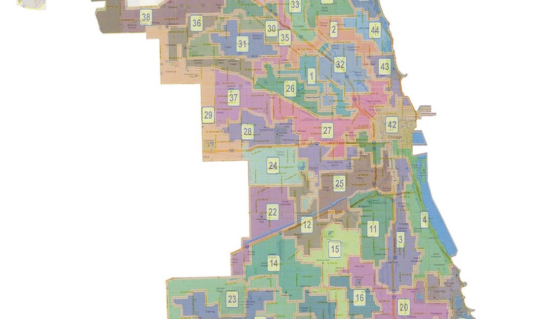 41st Ward Citizens Blog Chicagos Shady Ward Remap