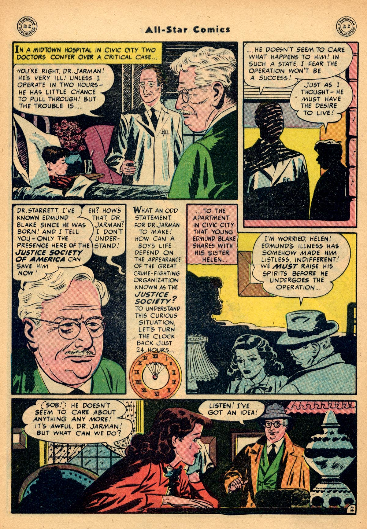 Read online All-Star Comics comic -  Issue #48 - 4