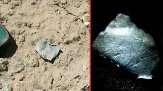Geólogo encuentra posibles restos del OVNI estrellado en Roswell