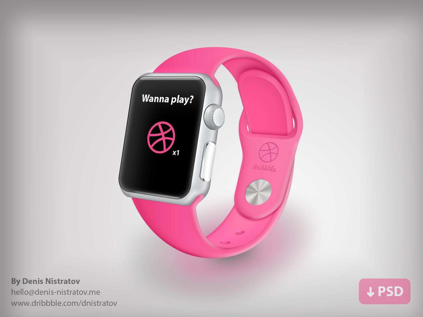 Apple Watch Dribbble