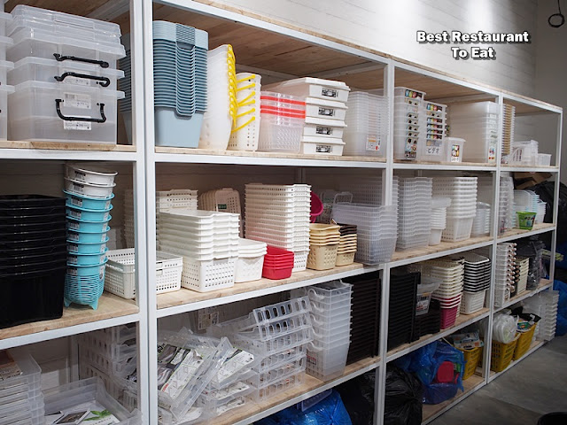 Container/ Tupperware Section