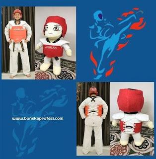Bikin Boneka Karakter Custom
