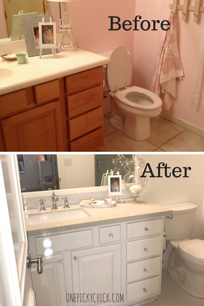 A Small Bathroom Can Look Even Smaller If You Choose The Wrong Way To  Remodel It. Hereu0027s How To Make Your Small Bathroom Look Larger Than Life!