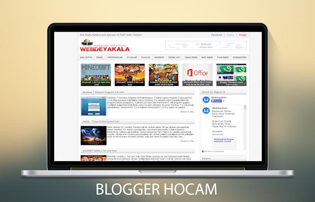 Blogger Portal v2 Teması
