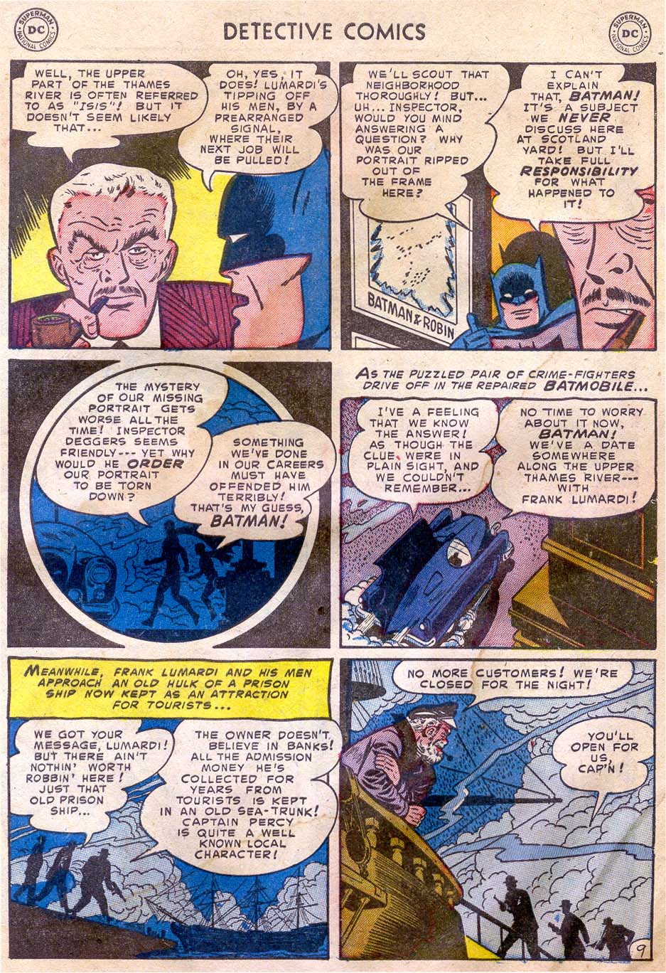Read online Detective Comics (1937) comic -  Issue #196 - 11