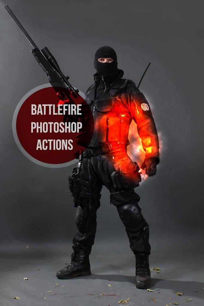 Battlefire Photoshop Actions