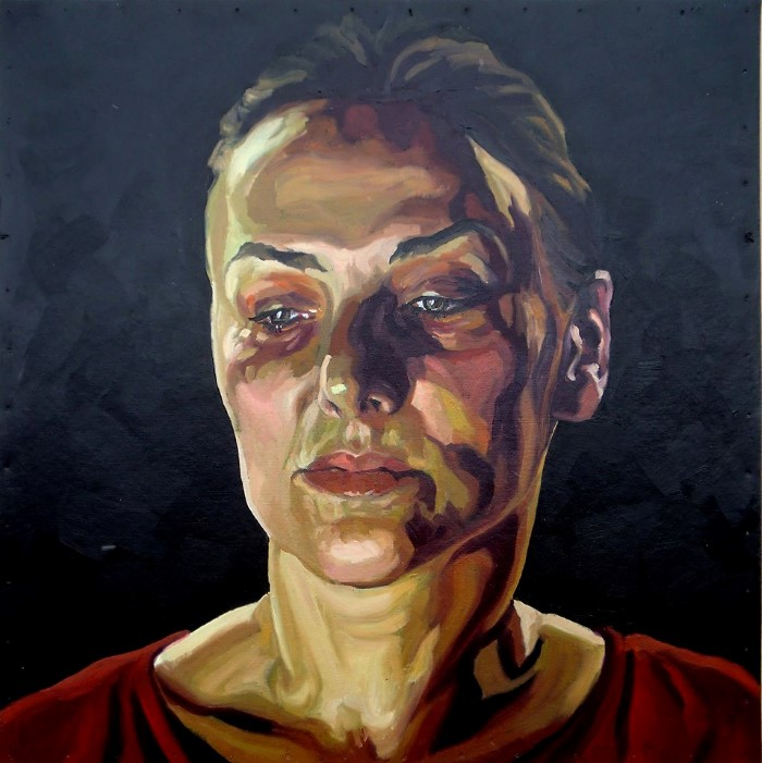 Сербский художник. Biserka Petrovic