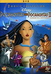 Pocahontas and Pocahontas 2- DVD front cover