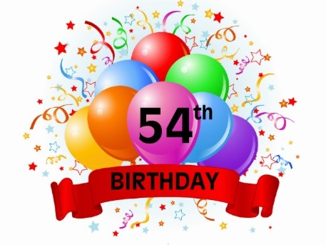 Happy Clean Living 54th Birthday