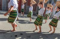 Woven Basket Ladies Dance and Balance