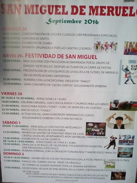Fiestas de San Miguel 2016 en  Meruelo