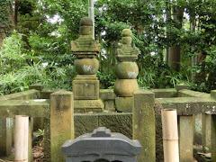 阿野全成・時元の墓