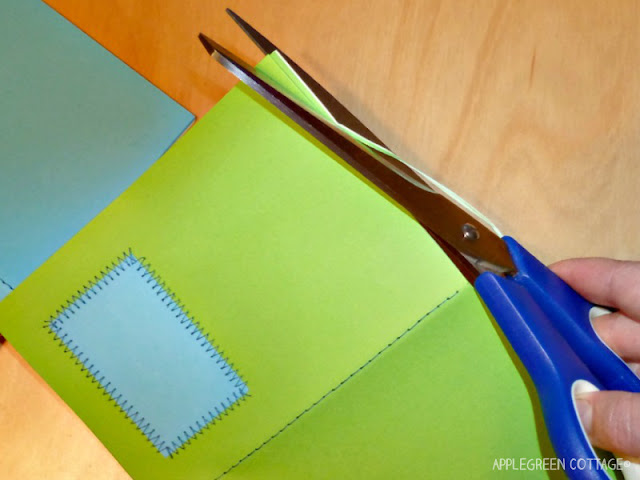 tutorial - sew a notebook