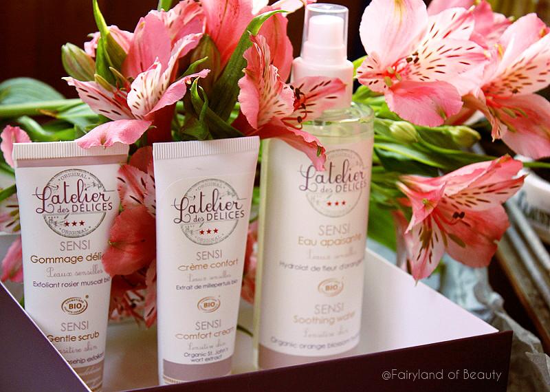 """Отзыв: Набор """"Комфорт и защита"""" для нормальной, сухой кожи от французского бренда L'Atelier des DÉLICES."""
