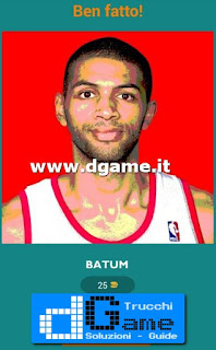 Soluzioni Guess The Basketball Player livello 25