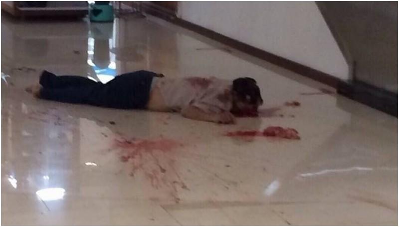 Seorang pria tewas bunuh diri di Mall Centre Point Medan