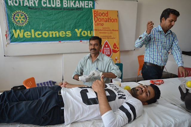 RNB Global University - Blood Donation Camp