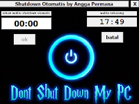 Aplikasi Shutdown Otomatis for windows xp, windows 7