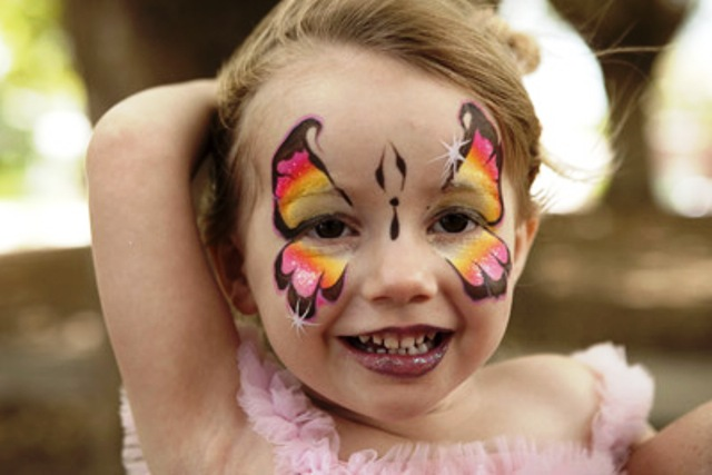 Fairy Face Paint For Kids