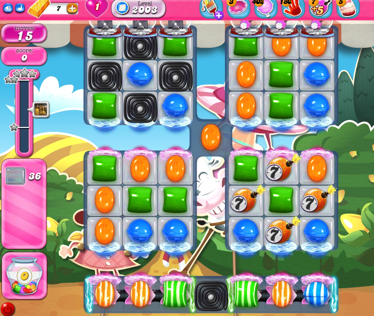 Candy Crush Saga 2003