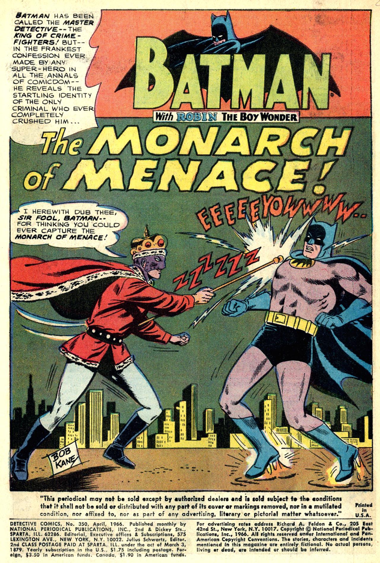 Detective Comics (1937) 350 Page 2
