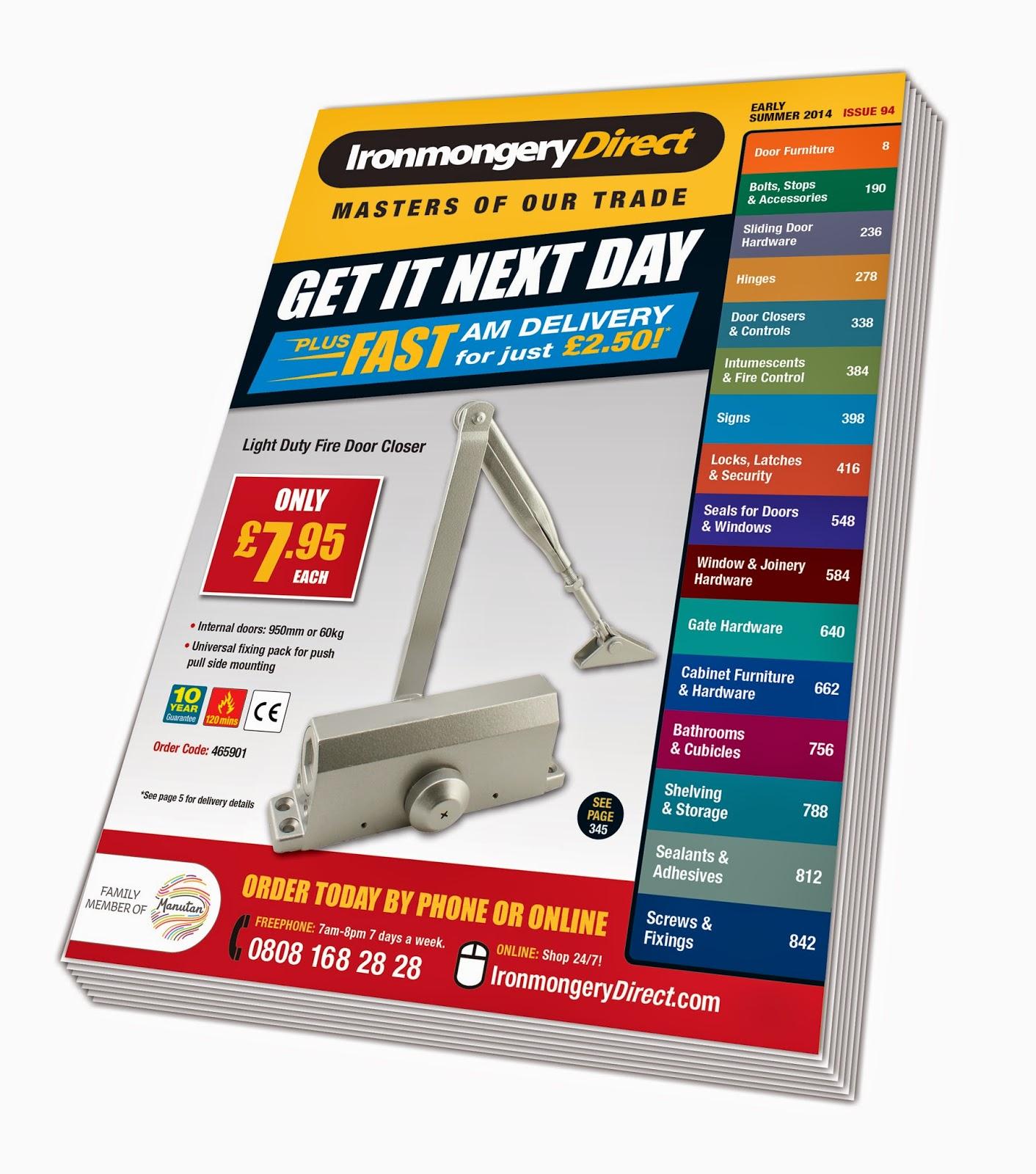 The Door Industry Journal: Ironmongery Direct Reveals More