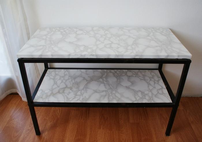tavolo marmo falso faidate francinesplaceblog